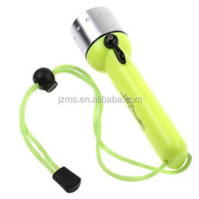 Outdoor searching flashlight torch and diving flashlight