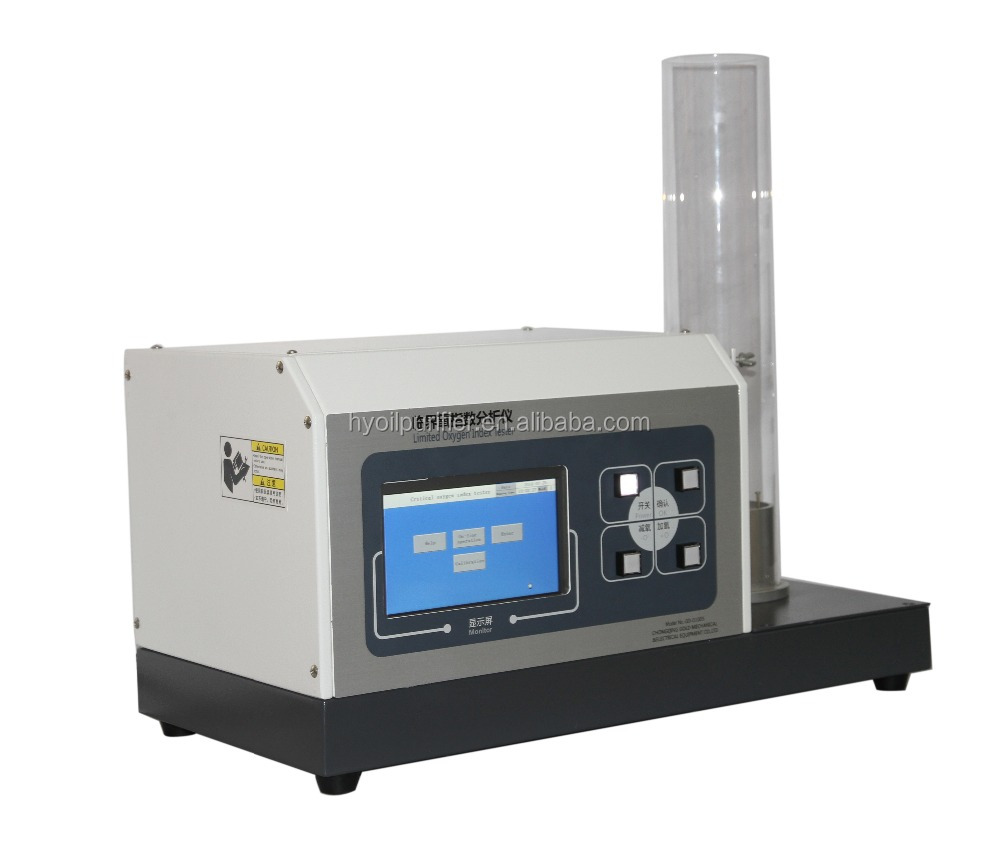 ASTM D 2863 LOI Tester for Limiting Oxygen Index Test