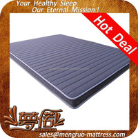 high elastic compress single size rebonded foam mattresses