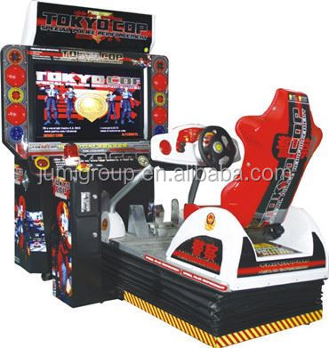 Best Quality children car racing model electronic game machine