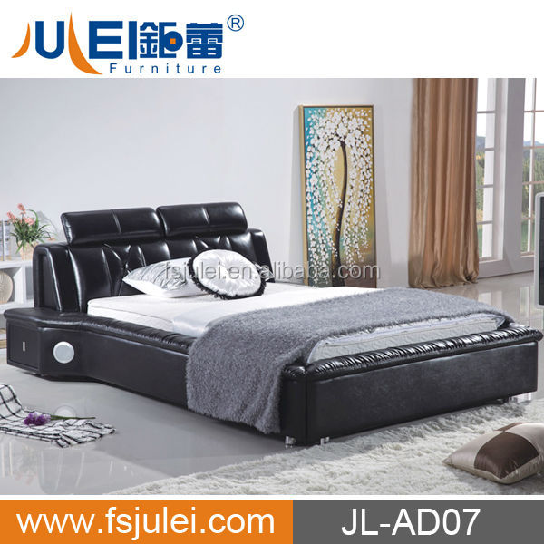 JL-AD07 Modern Smart Furniture Adjustable Bed with massage function