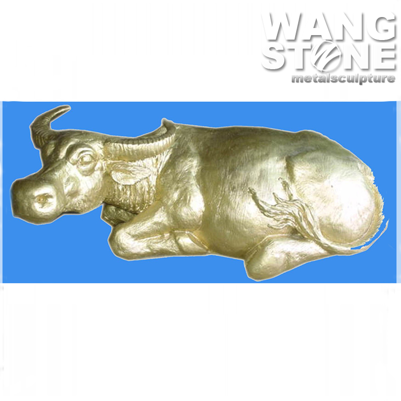 Animal Cast Bronze Sculpture Bull Statues For Sale