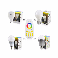 Mi.Light Dimmable 110V 220V AC85V-265V CW/WW RGBW RGBWW E27 E14 GU10 4W 5W 6W 9W Smart Milight LED Bulb Lamp Spot Light