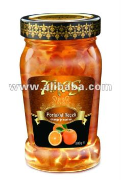 800 gr Jam-Preserve ( 10 flavor in Glass Jar)