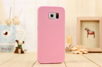 Candy colors Soft TPU Silicon phone cases For Samsung Galay S6 S6 Edge s6edge plus s7 phone shell Coque