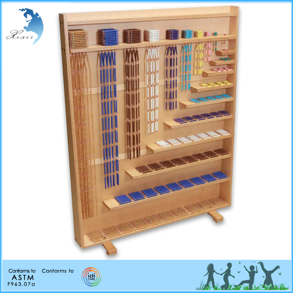 Hot sale protectory utility montessori material wooden math <strong>toys</strong>