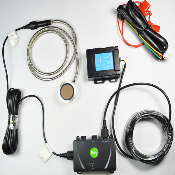Ultrasonic Diesel Tank Level Gauge/ Meter with Temperature Sensor