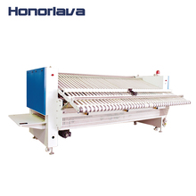 Robotic Bed Sheets Ironing and Folding Machine for Hotel Laundry Equipment