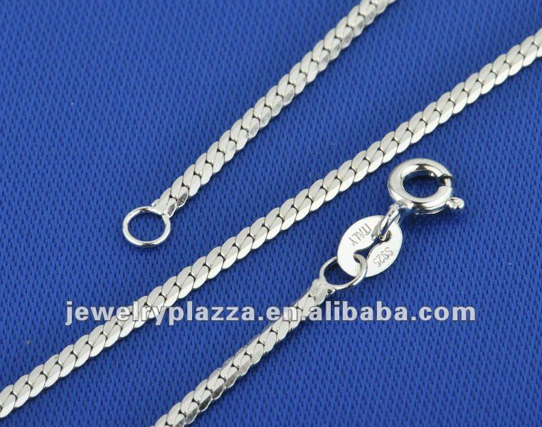 italian 925 sterling silver men chain