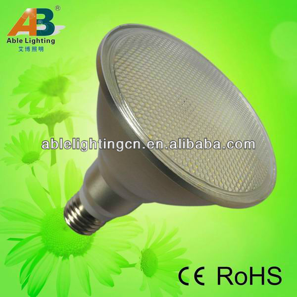 high lumen 860lm dimmable smd led par38 12w spot lighting 220v 5050 60smd