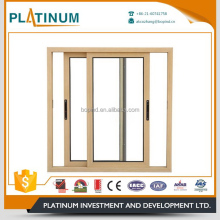 Aluminium profile latest toughened glass sliding window