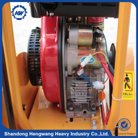180mm depth electric road cutting machinery road cutter