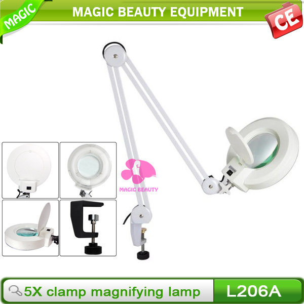 Wholesale Portable Magnifier Lamp 5 Diopter / Magnifying Lamp Parts