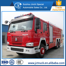 Sinotruck HOWO 6X4 12/15CBM size of fire truck for sale , fire truck water capacity