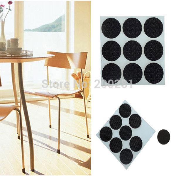 Get Quotations · 9Pcs/set Furniture Table Chair Leg Floor Feet Cap Cover  Protectors Anti Scratch Protectors Pad