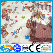 100% cotton bedding fabric for kids