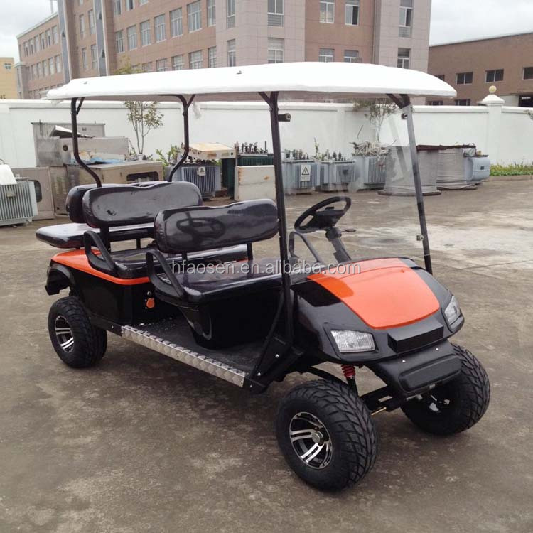 Cheap gas powered utility vehicle golf carts with CE certification