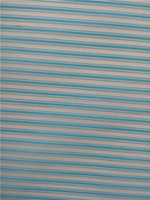colorful transverse line horizontal stripes organza sheets for holiday use