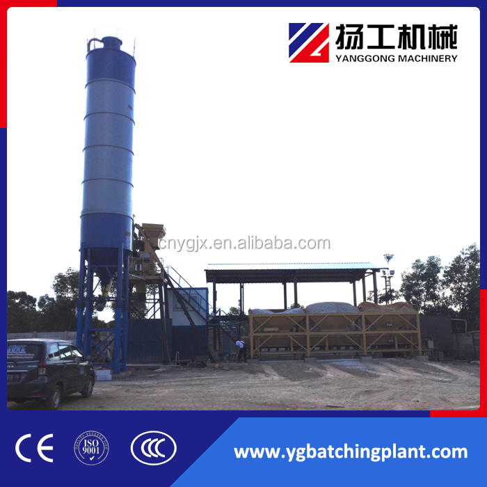 Stationary Concrete Batching Plant for Distributor