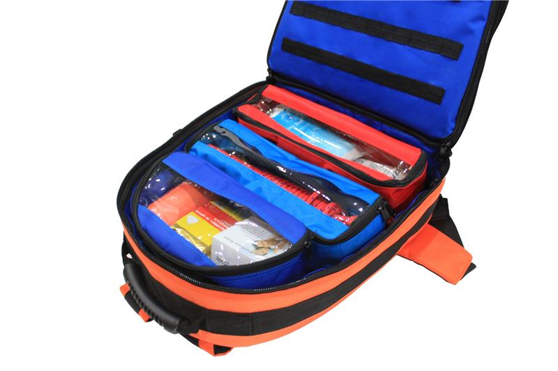 Travel or emergency use in camping first aid kits