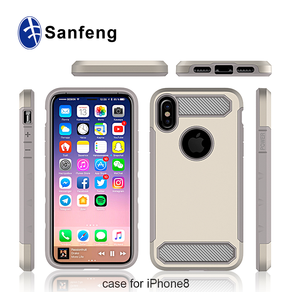 More Than 14 Years Experience Big Factory Direct Supply Handphone Accessories Wholesale for iPhone 8 Mobile Phone Case
