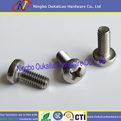 Your first choice! Delicate machine screws Black anodized pan head no head for SS or iron