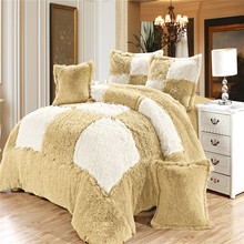 2015 Hot New Product Luxury patchwork quilt covers