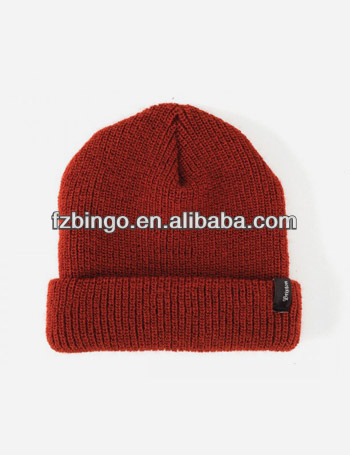 Small quantity custom infant cotton beanies
