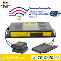 F3936 industrial 3G bus wifi router for advertising push with GPS