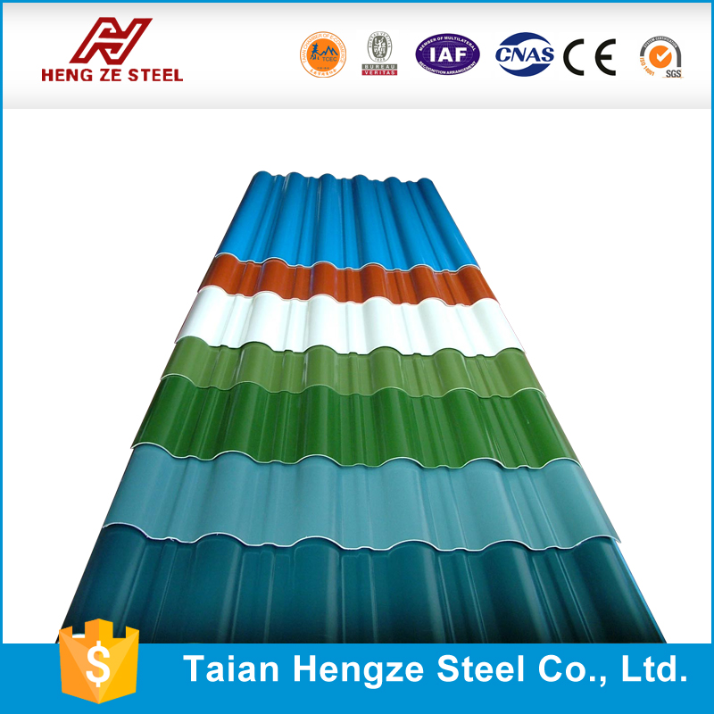 best selling new model Building materials Colorful Stone-coated Metal Roofing tile