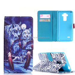 Custom printed phone case smart leather cover for lg stylo ls770
