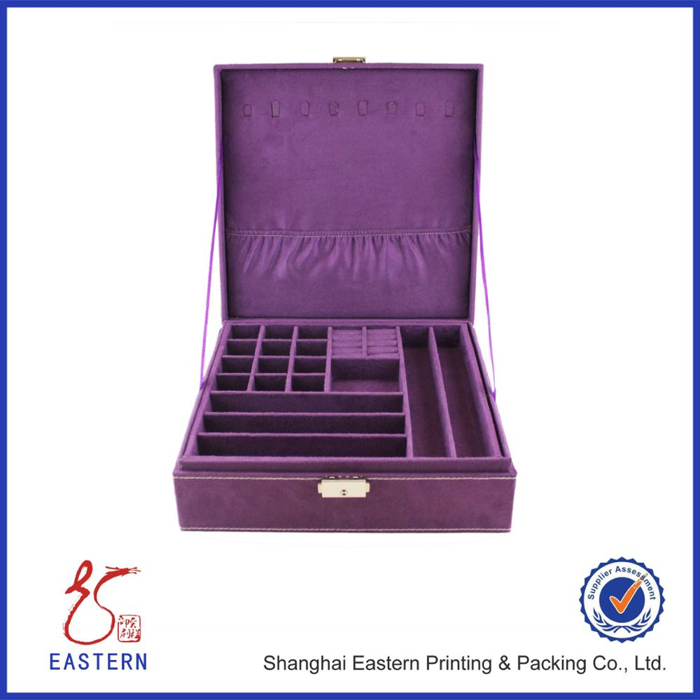 Custom Logo Cardboard Printed Jewelry Packaging Boxes, Gift Paper Box With Silver Stamping