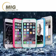 2016 Waterproof / Water Resistant Protective Mobile Phone Cover Case accessory for iphone 6 6s plus