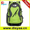 Large capacity outdoor backpack with padded strap green backpack