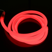 LED Strip Neon Rope Light 30 Ft 12V Red Jacket Red Light LED Neon Flex