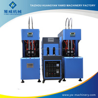 blueberry hot filling preform stretch blow 500ml PET bottle making injection molding machine