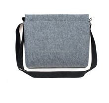 Felt shoulder bag felt small bag for pad and notebook felt bag wholesale with low price