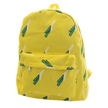 New hot School bag for university students printing women canvas backpacks For Teenage Girls Travel college satchel Bags
