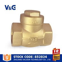 Valogin Free Sample 10000 Times Long Life check valve with counter weigh...
