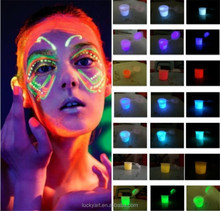 Water based body paint neon face body paint color UV face body paint