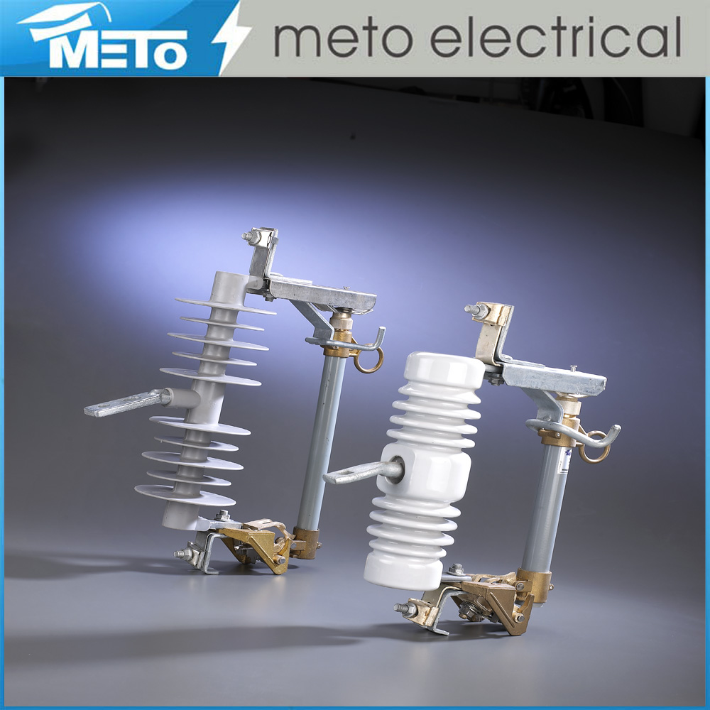 Meto polymer expulsion fuse cut-out dropout 24kv drop porcelain fuse cutout 22kv