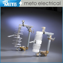 Meto polymer expulsion fuse cut-out dropout 24kv drop porcelain pole mounted function of electrical fuse cutout price 22kv