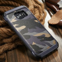 Camo for Samsung S7 edge, for Samsung Galaxy S7 edge Hard Cases, Leather Case for S7 S7edge S6 S6 edge