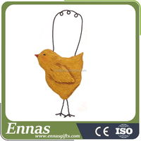 Resin chick ornament for decoration