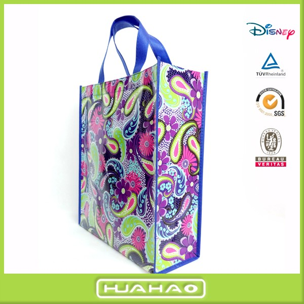 eco friendly laminated pp non woven bags