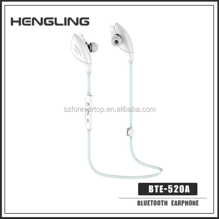 Fashion in-ear stereo bluetooth headset,stylish sports running bluetooth earphone