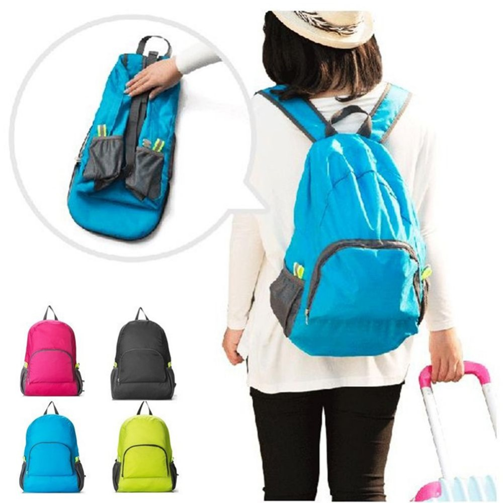 Casual Daypacks Foldable Back Packs Men Women School Bag