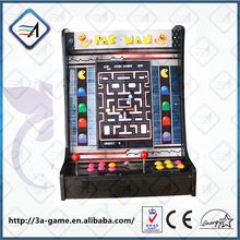 Pacman Jamma Board 60 in 1 Mutli PCB Board Classical Games 19'' LCD Mini Cocktaill Arcade Game Machine