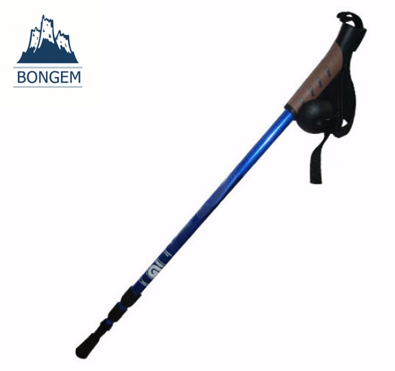 Hot selling retractable aluminum old man walking stick parts
