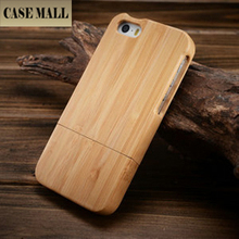flower Pattern Wood Paste Deep Brown Back Shell Case for iPhone 5 wooden case designer wood case 2015 NEW